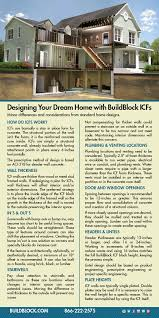 Small Picture ICF Home Design BuildBlock Insulating Concrete Forms