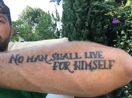 This Tattoo Went With Me To A Youth Shelter And Those Kids Invited