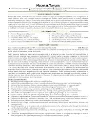 Michael Taylor Resume Sales Business Ideal Business To Business