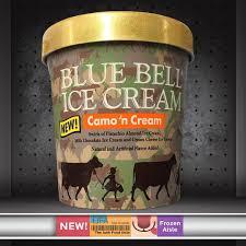 Blue Bell Ice Cream Camo N Cream The Junk Food Aisle