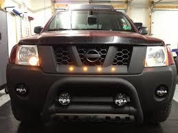 2012 Nissan Frontier Light Bar Raptor Led Lights In Xterra Grill Nissan Navara D40