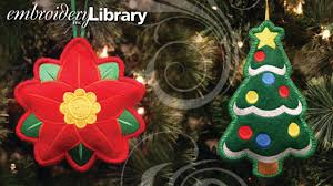 Embroidery Library Christmas Designs Heirloom Stuffed Ornaments In The Hoop