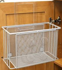 over door basket organizer cabinet under sink storage kitchen img 3