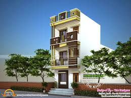 small plot house exterior kerala home design and floor plans