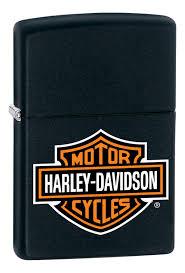 <b>Зажигалка</b> бензиновая <b>Harley</b>-<b>Davidson</b> (черная) от <b>Zippo</b> купить ...