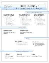 Microsoft Office Resume Format – Armni.co