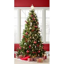 Green Spruce Artificial Christmas Tree with Clear/White Lights Trees You\u0027ll Love | Wayfair