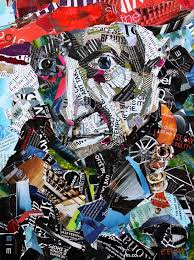 Example Of A Collage Picasso Portrait Original Collage Steemit