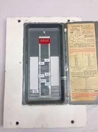 federal pacific 112 20 fpe 100 amp electric panel cover fuse box federal pacific 112 20 fpe 100 amp electric panel cover fuse box stab lok