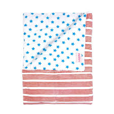blue stars stripes baby quilt