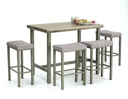 bar stool table and chairs round pub dining table sets stylish bar height cafe table dining