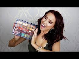 custom made by make up queen jaclyn hill mixing anastasia beverly hills makeup geek mac one pan shadows