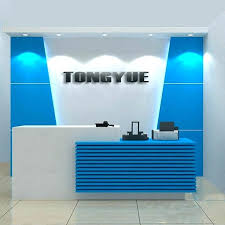 office reception counter. Office Counters Design High Gloss White Contemporary Reception Desk Counter Buy