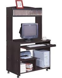 tower computer desk. Smart Home Liam Desktop Tower Computer Desk Red Cocoa - CP121
