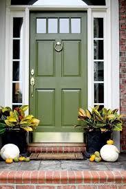 Image Blue Olive Green Front Door Beautiful Pinterest Olive Green Front Doors Painted Front Doors Door Paint Colors