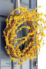 front door wreathDIY Front Door Fall Wreath  Fast  Easy  On Sutton Place