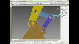 Hydraulic Cylinder Linkage Design Tutorial Rigging A 6 Bar Excavator Linkage With 3ds Max