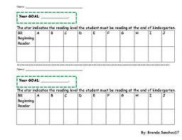 Star Reading Level Chart Reading Level Tracker 1