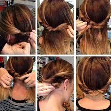 Image Coiffure Facile Cheveux Mi Long Mariage Coupe De