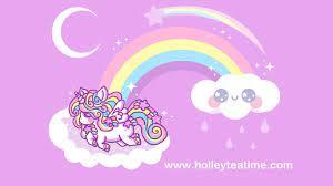 Cute Rainbow Unicorn Wallpapers - Top ...