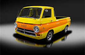 69 Dodge A100 pickup looks like a full-size Hot Wheels