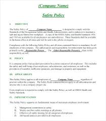 Safety Manual Template – Custosathletics.co