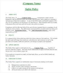 Safety Manual Template – Custosathletics.co