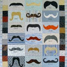 Hip Teen Quilt Patterns on Craftsy: Projects that Are Perfect for ... & Quilt Featuring Various Mustaches Adamdwight.com