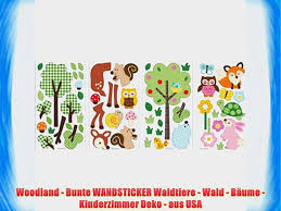 Woodland Aus Wald Usa Waldtiere Kinderzimmer Bunte B Deko