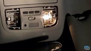 2006 Honda Accord Map Light Not Working Honda Door Map Dome Light Fix