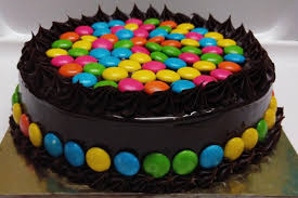 Chocolate Cake Decoration With Gems Flisol Home