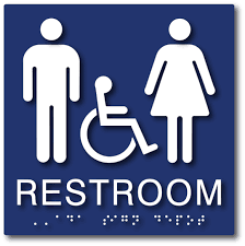 Handicap Bathroom Signs Delectable ADA Compliant Signs Restroom Signs Truncated Domes ADA Sign Depot