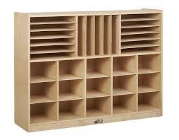 toy storage furniture. Amazon.com: ECR4Kids Birch Multi-Section Storage Cabinet: Industrial \u0026 Scientific Toy Furniture