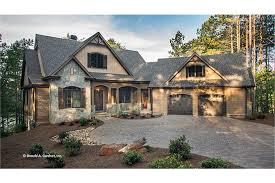 craftsman style ranch with walkout basement hwbdo77120