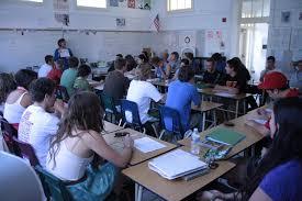 Real classroom blow jobs
