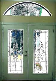 front door with stained glass wooden beautiful entry side panels decorative doors cover etching designs new exterior fro