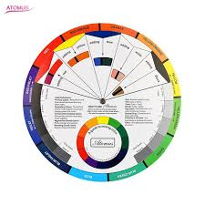 Details About Artist Oil Acrylic Pocket Colour Wheel Paint Mixing Guide Painting Art Smll Gp