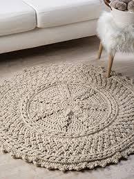 cables galore aran circular rug