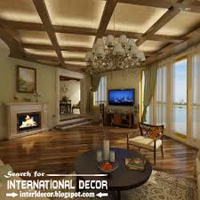 coffered ceiling lighting. Coffered Ceiling With LED Lights, Ceiling, Led Lighting Interior Design O
