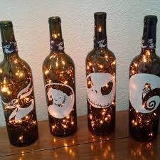 12. old champagne bottles and christmas lights can steal the limelight