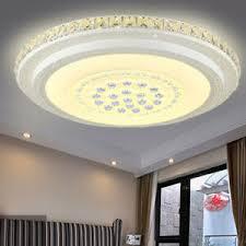 Hier können sie sich für den raum ihrer wahl. 48w 52cm Rund Led Deckenlampe Kristall Deckenleuchte Wohnzimmer Lampe Warmweiss Ebay