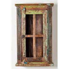reclaimed wood wall cabinet bathroom or