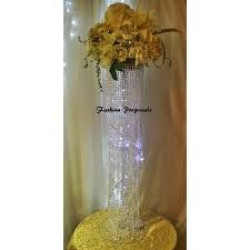 wedding centerpieces table top chandelier set of 10 centerpiece swirl cascade table top chandelier