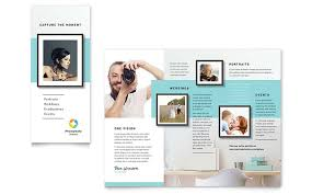 Sales Pamphlets Photographer Brochure Template Word Publisher