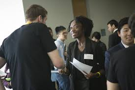 Companies Battle For Gt Computing Students At Spring Career Fair