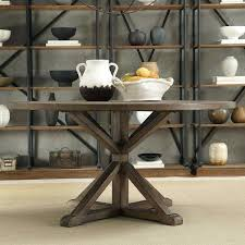 x base dining table home rustic x base inch round pine wood dining table black pedestal