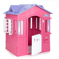 brand new pink playhouse girls cottage indoor and outdoor children play house toy kids