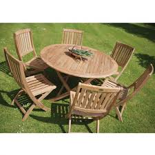 teak garden folding table sabina round