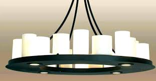 faux candle chandelier round modern lighting pillar chandeliers in parts faux candle chandelier