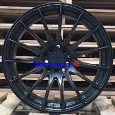 17 XXR 550 Flat Black +36 Staggered Wheels Rims 5x114.3 Fin Stance ...
